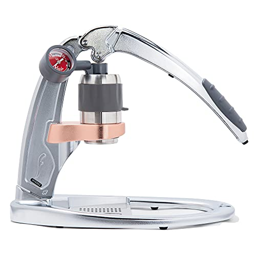 Flair Espresso Maker PRO 2 (Chrome) - An all manual lever espresso maker with stainless steel brew...