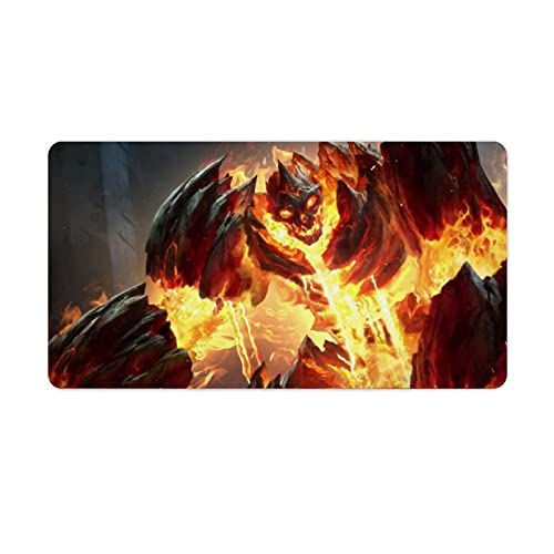 Monsters in The Fire of Hell - Alfombrilla para ratón (750 x 400 x 3 mm)
