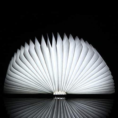 Creatieve boek nacht licht, USB opladen opvouwbare tafellamp, kan hangen wandlamp, plafond hanglamp, verjaardagscadeaus