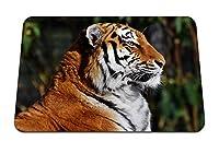 26cmx21cm マウスパッド (タイガーマズルプロファイル大きな猫) パターンカスタムの マウスパッド