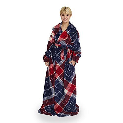 groony グルーニー 着る毛布 ルームウェア 着丈155cm ユニバーズチェック