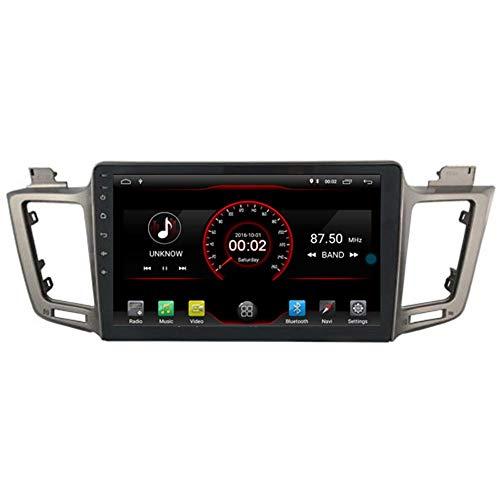 10.2'Android 10 Coche Navegación de la navegación Estéreo Radio para Toyota RAV4 2013 2014 2015 2016 2017 Headunit WiFi BT Control de la rueda del volante incorporada Carplay con cable