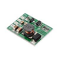 DC 9Vステップアップブーストコンバータ電圧電源装置モジュールボードをオン/オフ20PCS