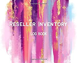 Reseller Inventory Log Book: Product Listing Notebook For Online Clothing Resellers on Poshmark, eBay, Mercari & More (Product list and Inventory log)
