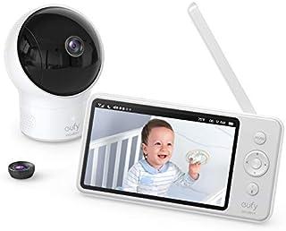eufy by Anker Security babyfoon Babyphone Video Baby Monitor met Camera en Audio, 720p HD Resolutie, 5 inch scherm, 110 ° ...