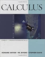 Calculus Early Transcendentals Combined by Anton, Howard, Bivens, Irl C., Davis, Stephen (2008) Hardcover