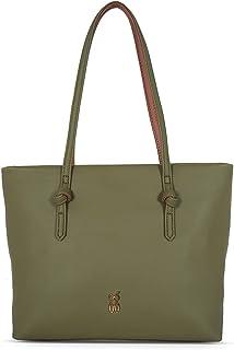 Baggit Women's Tote Handbag (Green)