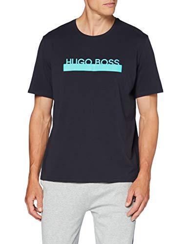 BOSS Herren Identity T-Shirt RN Pyjamaoberteil, Open Blue498, M
