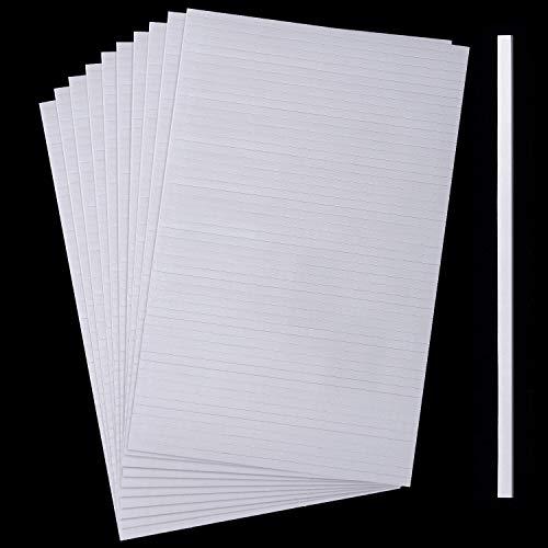 500 Stücke Doppelseitige Schaumstoff Klebestreifen Doppelt Klebende 3D Schaum Klebebänder Schaumstoff Popstreifen Klebebefestigung für Shaker Karte Scrapbooking oder Büro Zubehör (5,9 Zoll)