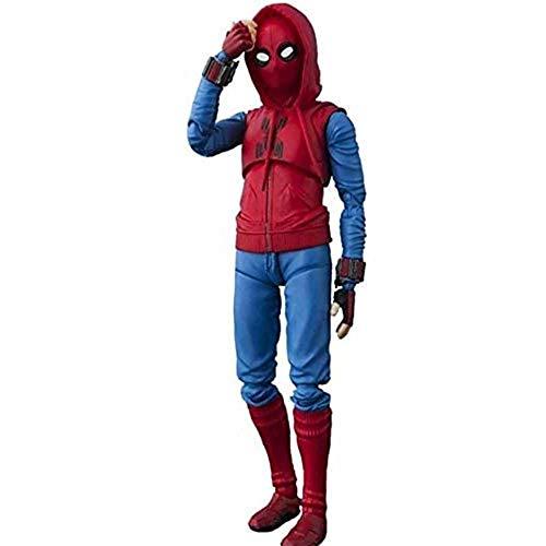 WPF ZJH Spider-Man Modelo de Juguete, Vengadores de Spider-Man, 6 Pulgadas, articulaciones...