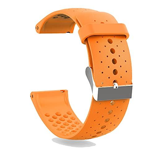 KINOEHOO Correas para relojes Compatible con Polar Vantage M Pulseras de repuesto.Correas para relojesde silicona.