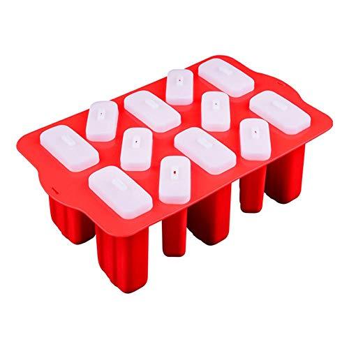 Molde para helado, moldes para hacer palomitas, reutilizable, juego de 12 EIN Ein