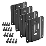 Maxracing Tie Down Bracket Bed Load Hook Reinforcement Panel Compatible with Ford F150 F250 F350 & Raptor 2015-2019