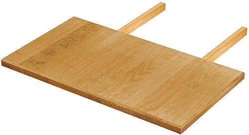 Brasilmöbel Ansteckplatte 50x90 Honig Rio Classiko oder Rio Kanto - Pinie Massivholz Echtholz - Größe & Farbe wählbar - für Esstisch Tischverlängerung Holztisch Tisch Erweiterung ausziehbar