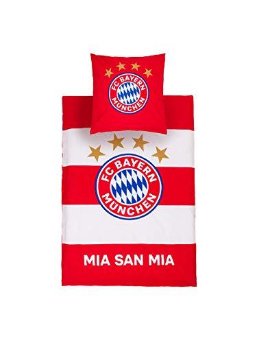 FC Bayern München Bettwäsche rot/weiß Übergröße