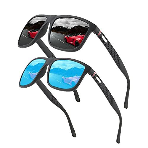 Gafas de sol polarizadas para hombres y mujeres; marcos vintage / clásicos / elegantes; objetivos de alta definición; Golf / Conducción / Pesca / Deportes al aire libre / Gafas de sol de moda