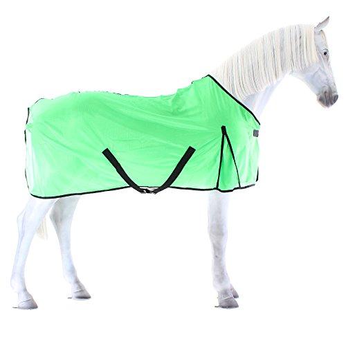 Equi-Theme/Equit'M 400073859 Éclat - Lenzuolo in rete, 1,5 m, 22,9 cm, 175 cm, colore: Verde fluo