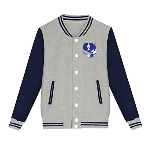 Zeta Phi Beta Fashion Coat Jacket Baseball Uniform Slim Fit Cashmere Unisex XX-Small