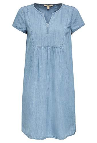 ESPRIT Damen 030EE1E301 Kleid, 903/BLUE Light WASH, XS