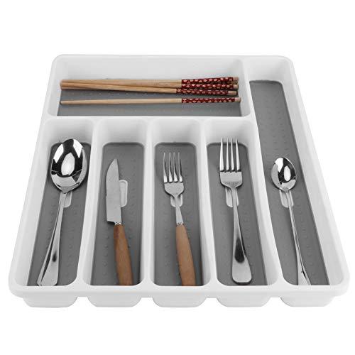 Elevado‑función Cajón Organizador, 40.5x32.4x4.4 cm Páginas+Tpr Forma Compartimiento Compartimiento Diseño por Cocina