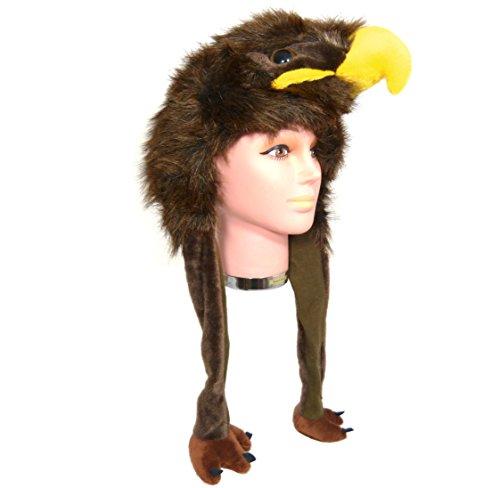 Berretto Peluche AQUILA - eagle HAT - zambiasi