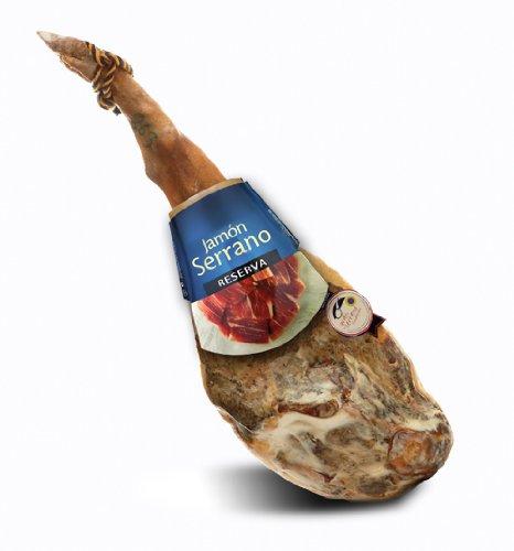 Jamon Serrano Gran Reserva - Serrano Hinterschinken - ca. 7,5 kg mit Gütesiegel