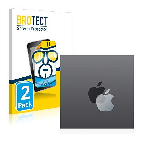 BROTECT Protector Pantalla Compatible con Apple iPad Mini 2 2013 (Logo) Protector Transparente (2 Unidades) Anti-Huellas