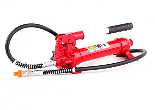 Hydraulik Handpumpe mit Pumpstange 4 Tonnen für Richtsatz Spreizer Druckzylinder