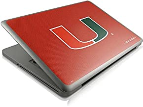 Skinit Decal Laptop Skin for MacBook Pro 13 (2011-2012) - Officially Licensed College Miami Hurricanes Jersey Design