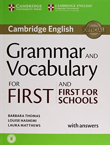 Grammar and Vocabulary for First and First