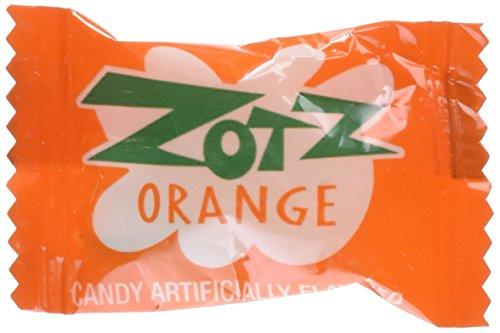 Zotz Fizzy Candy Orange Flavored 2lb 170 Pieces
