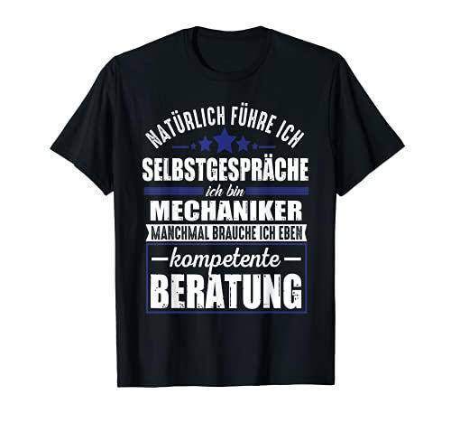 Lustiger Spruch Mechaniker Kompetente Beratung Schrauben T-Shirt