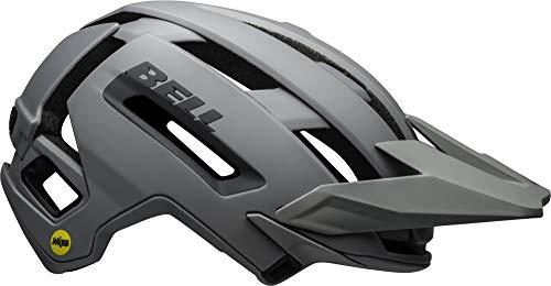 BELL Super Air MIPS Adult Mountain Bike Helmet – Matte/Gloss Grays (2021), Large (58-62 cm)