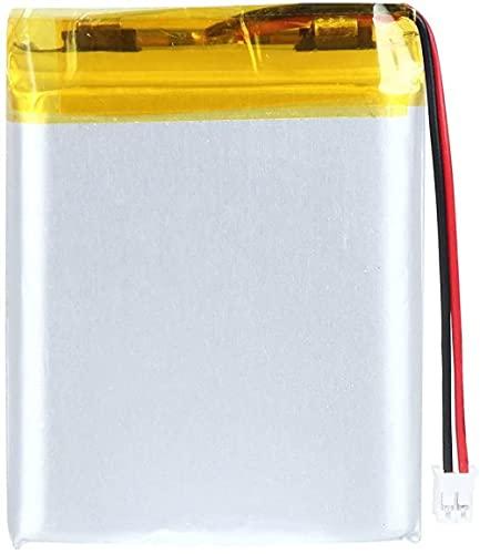 3.7V 1800mAh 844252 Batería de Litio Recargable de Litio Lipo Paquete de batería de Iones con Conector JST-4 Piezas