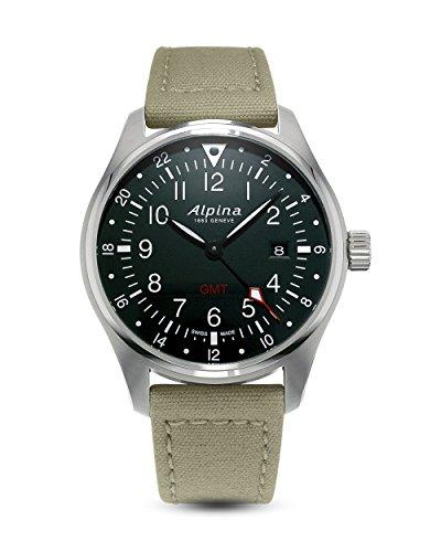 Alpina Schweizer Uhr Startimer Pilot GMT AL-247B4S6