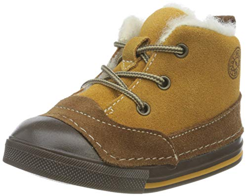 PRIMIGI Unisex Baby PTD 64004 Crib Shoe, Senape-Cuoio, 23 EU