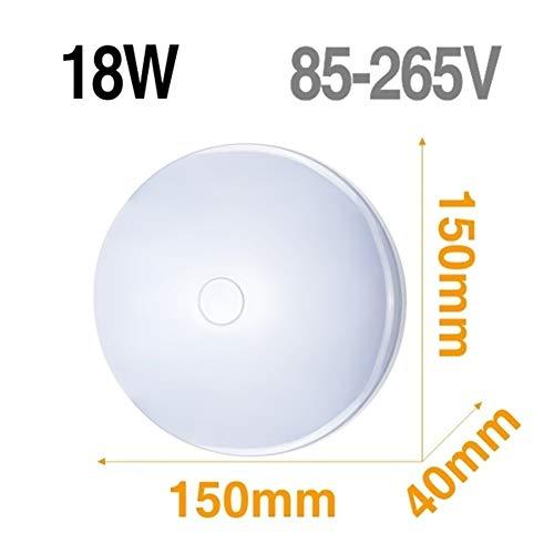 Lámpara de techo LED Panel de luz LED 48W 36W 24W 18W 13W 9W 6W abajo luz Montado en Superficie moderna lámpara de iluminación for el hogar Decoración (Body Color : Model A 18W)
