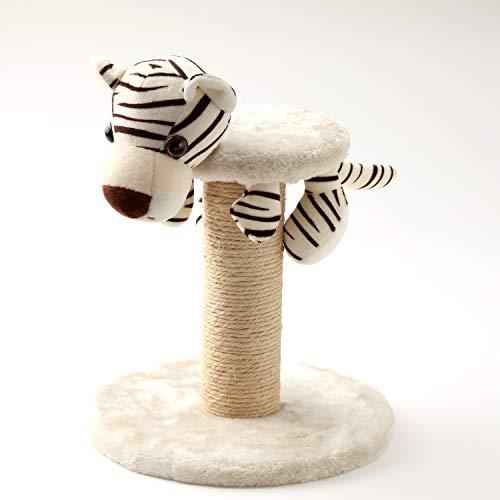 Anijoy Tiragraffi tigre   Giocattolo per gatti per muovere, coccolare, dormire, solo 30 cm di altezza, in peluche e sisal