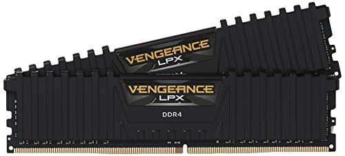 Corsair Vengeance LPX Memorie per Desktop a Elevate Prestazioni per AMD Ryzen e Intel 200, 16 GB (2 X 8 GB), DDR4, 3200 MHz, C16 XMP 2.0, Nero
