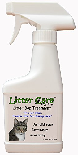 A Non-Stick Spray Coating for The Litter Box