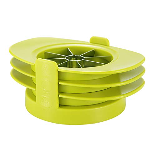 ZYXZXC Fruit Slicer Set,4 In 1 Multifunction Fruit Cutter,Apple Slicer,Ergonomic Handle,Stainless Steel Sharp Blade,Suitable For Cutting A Variety Of Fruits