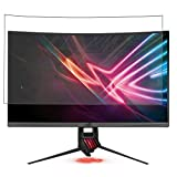 Puccy 2 Pack Anti Blue Light Screen Protector Film, compatible with ASUS ROG Strix XG32VQR 31.5' Display Monitor TPU Guard ( Not Tempered Glass Protectors )
