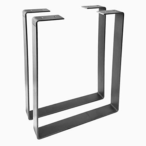 2 Pack - U Shape Legs, Hairpin Legs, Coffee Table Legs, Furniture Legs, Bench Legs, Desk Legs, Industrial Modern, Home, DIY