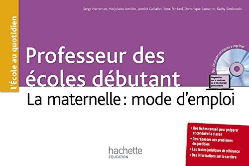 estimation pour le livre Professeurs des écoles débutant - La maternelle...