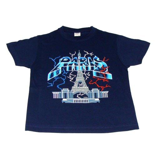 T-Shirt Garçon Paris 'Trocadéro' - Bleu (2 Ans)