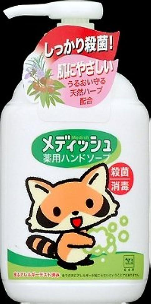 獣母音トチの実の木牛乳石鹸共進社 メディッシュ薬用ハンドソープ ポンプ250ml×24点セット (4901525955706)