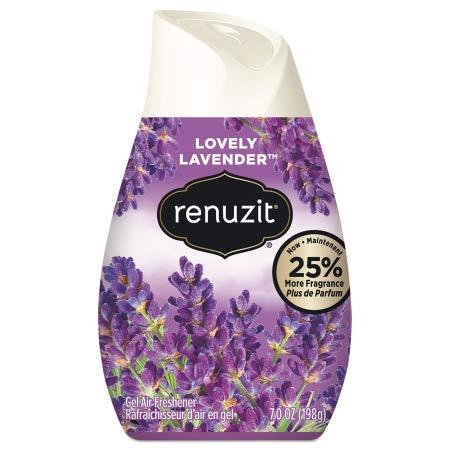 Renuzit Adjustables Air Freshener, Fresh Lavender, Solid, 7 oz - 35001, (Pack of 20)