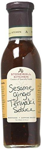 Stonewall Kitchen Sesame Ginger Teriyaki Sauce, 11 Ounces