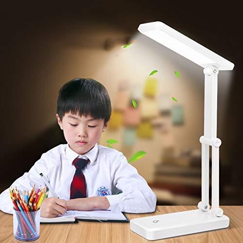 CCHWJX Solar Charging Mini tafellamp LED Folding ogen Energy Saving leeslamp voor slaapkamer bureau slaapbedlampje familiehotel