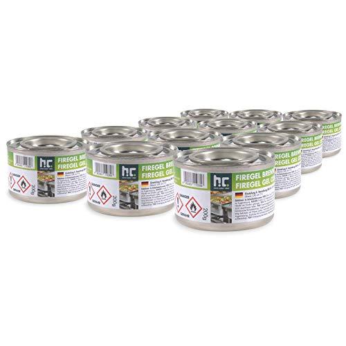 12 x 200g Brennpaste - für Gastronomie und Privathaushalte - zum Warmhalten von Speisen - von Höfer Chemie